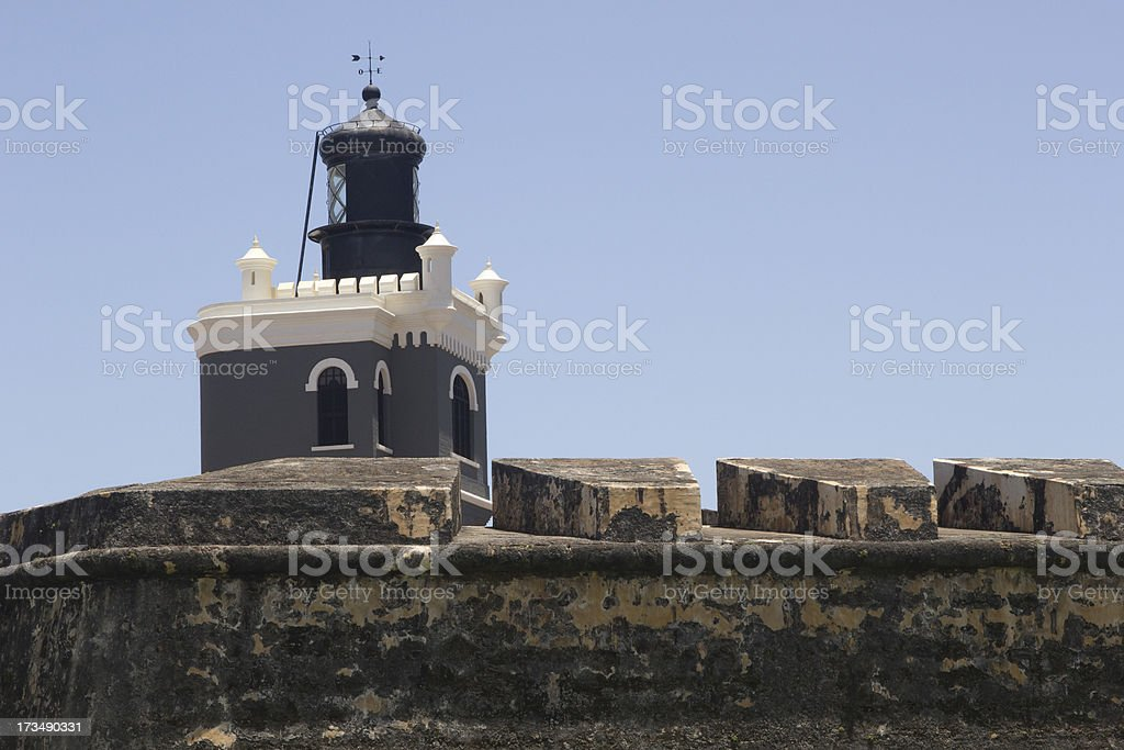 El Morro Lighthouse stock photo