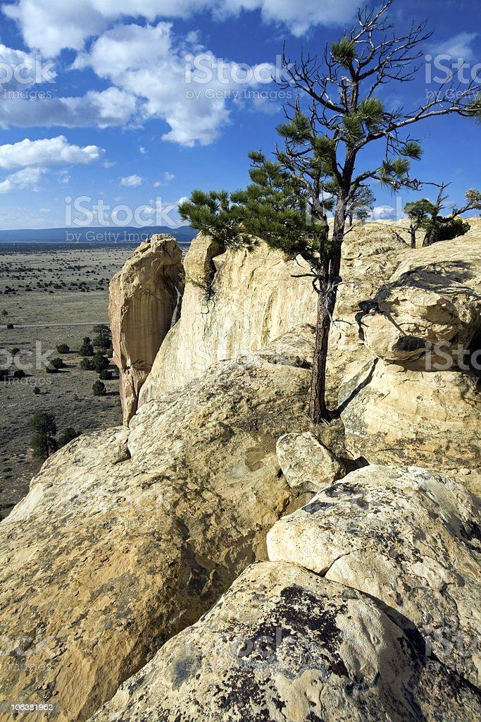 El Morro National Monument vista stock photo