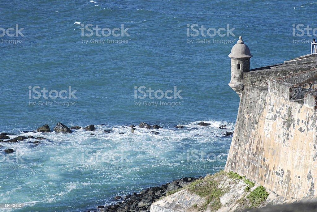 El Morro stock photo