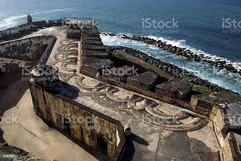 El Morro royalty-free stock photo