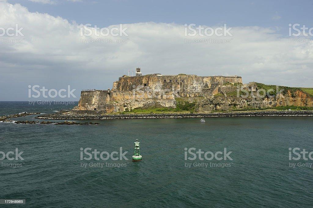 El Morro, San Juan Fortress stock photo