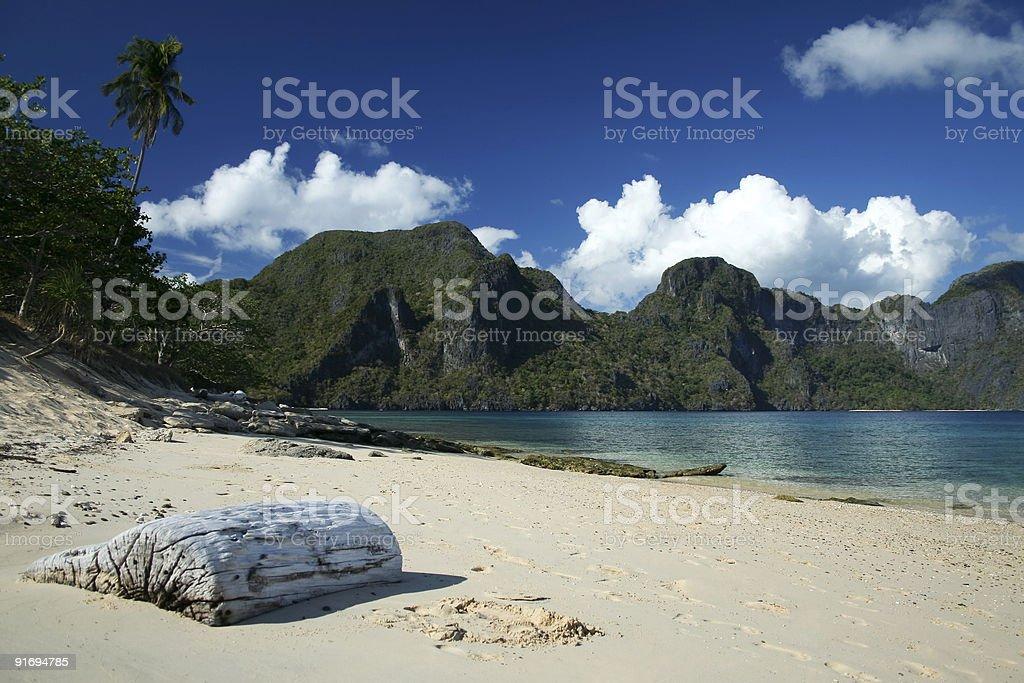 el nido beach palawan philippines royalty-free stock photo