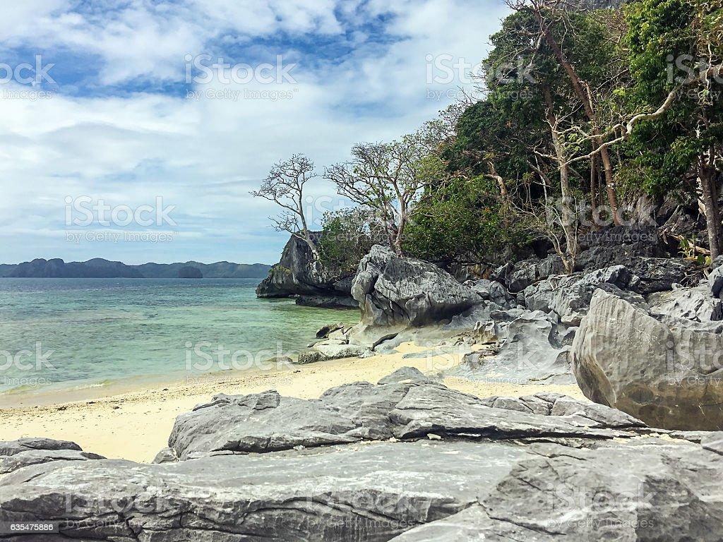 El Nido islands stock photo