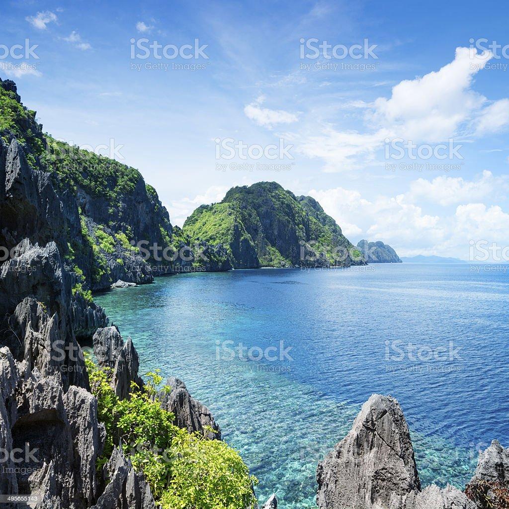 El Nido, Palawan - The Philippines stock photo