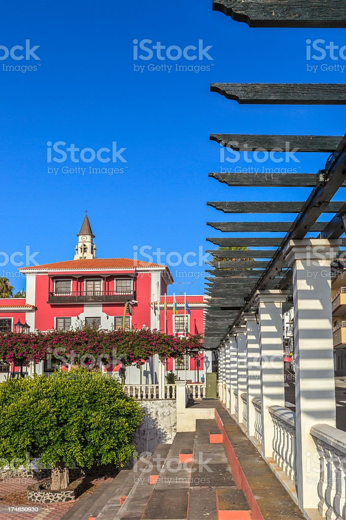 El Paso, La Palma royalty-free stock photo