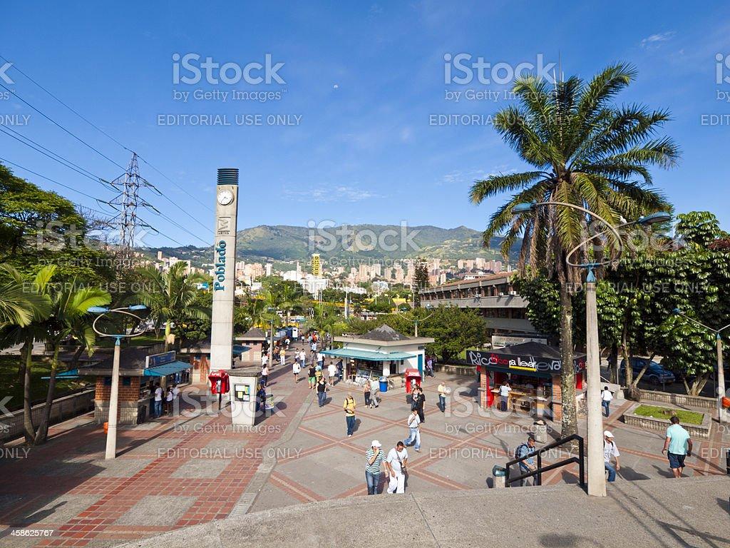 El Poblado, Medellin, Colombia royalty-free stock photo