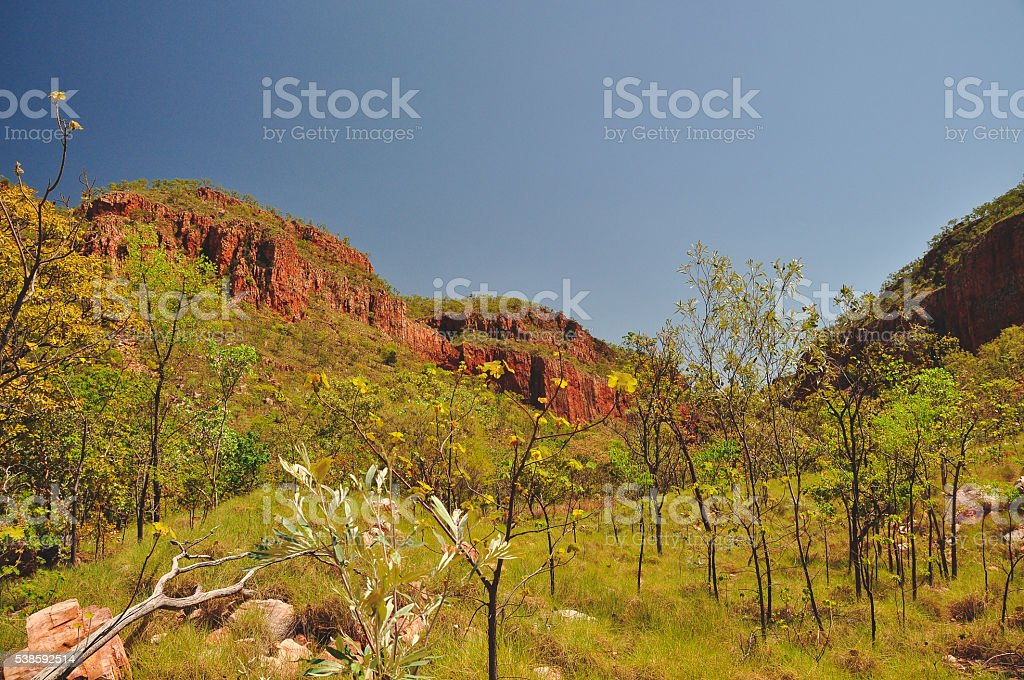 El Questro landscape stock photo