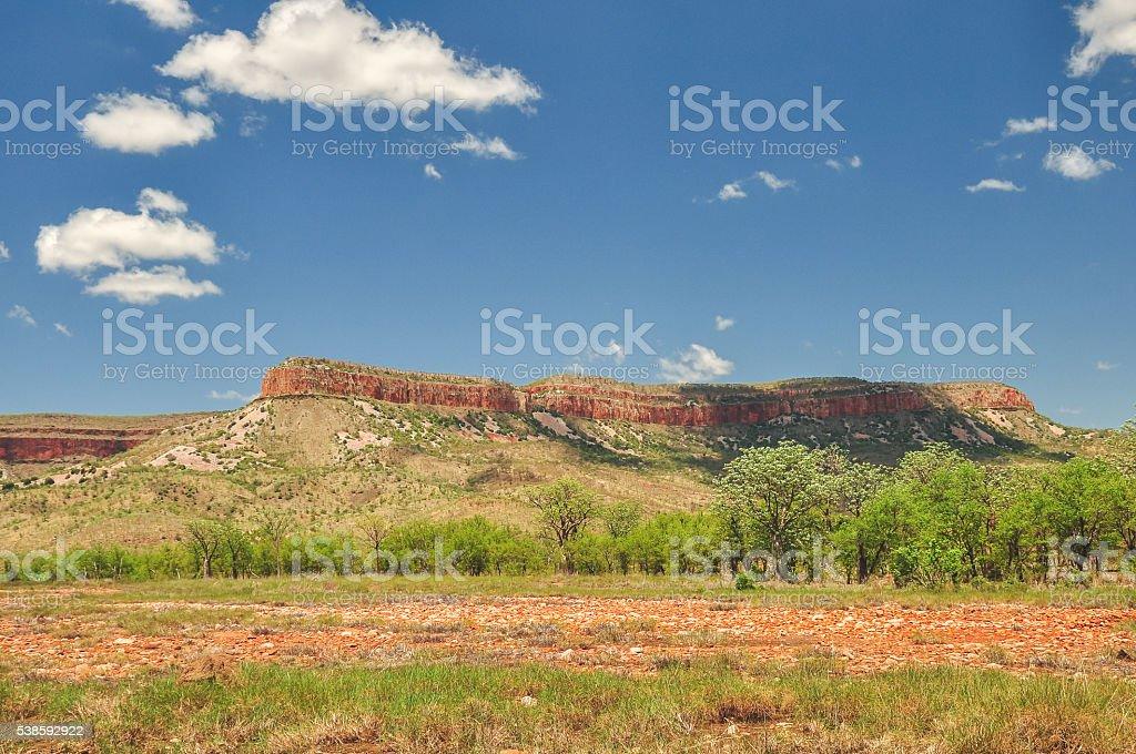 El Questro outback stock photo