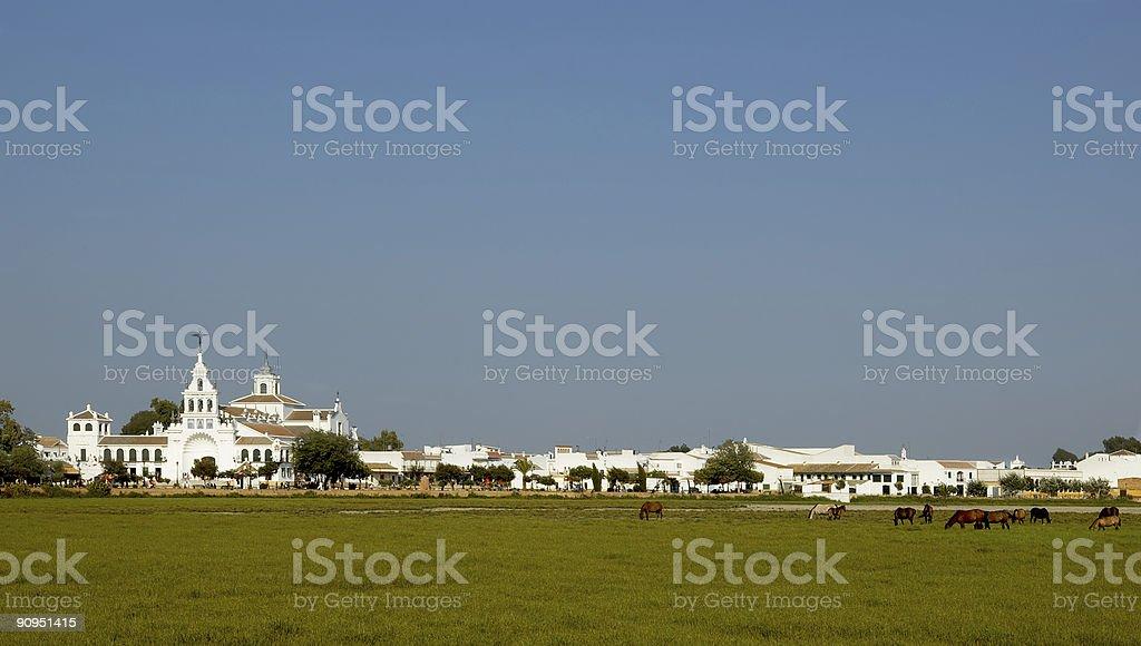 El Rocio royalty-free stock photo