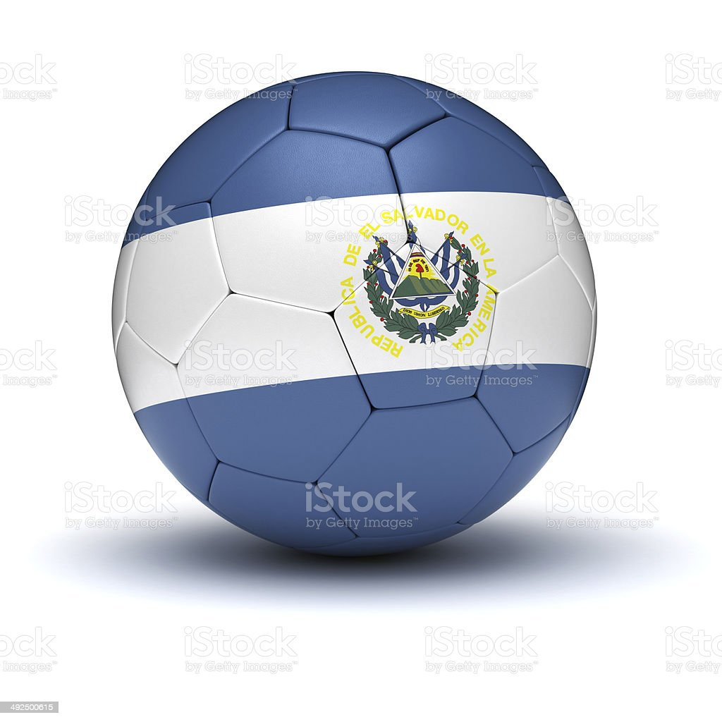 El Salvador Football stock photo