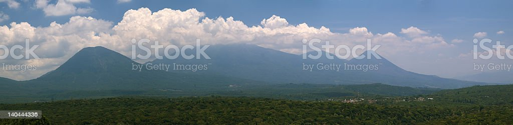 El Salvador Panorama royalty-free stock photo