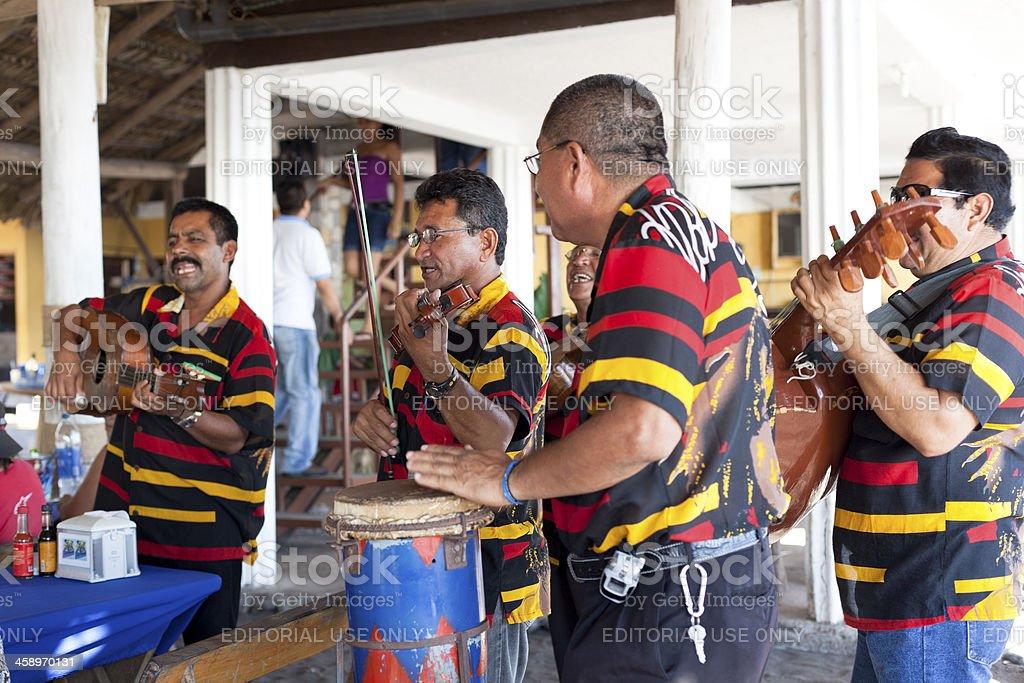 El Salvadorian Music Band royalty-free stock photo