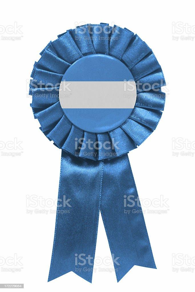 El salvadorian ribbon royalty-free stock photo