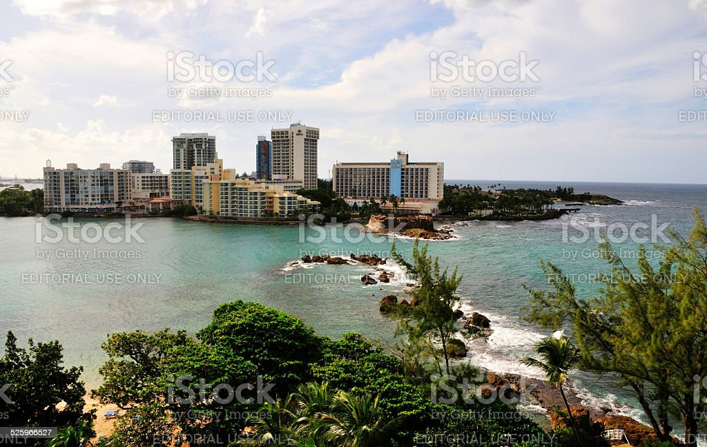El San Juan Hotels stock photo