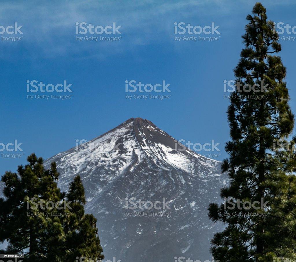 El Teide stock photo