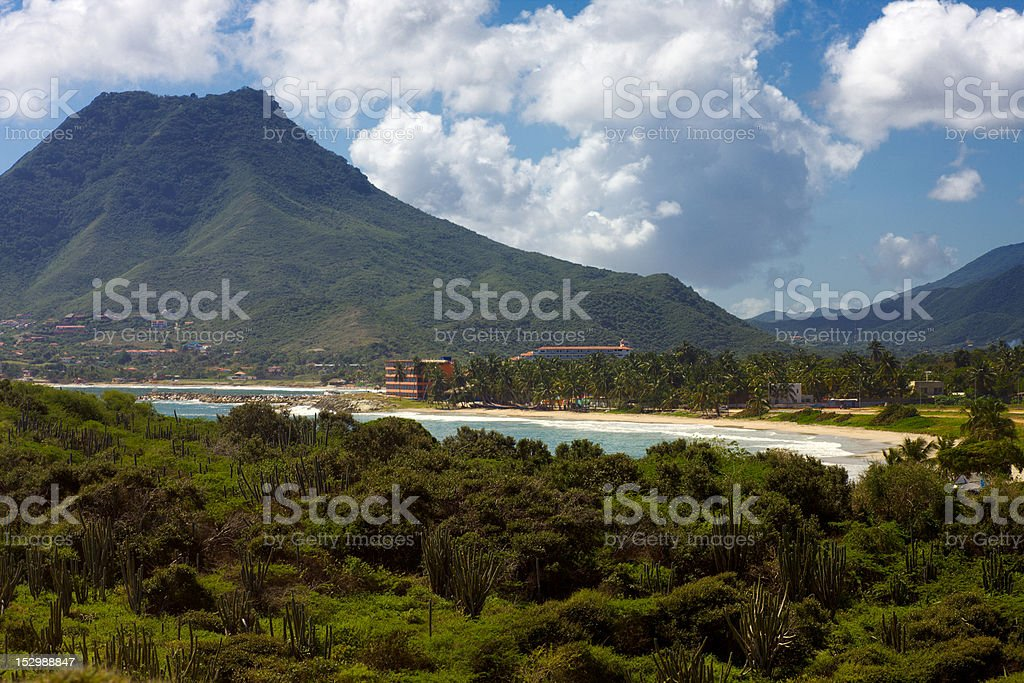 Playa El Tirano stock photo