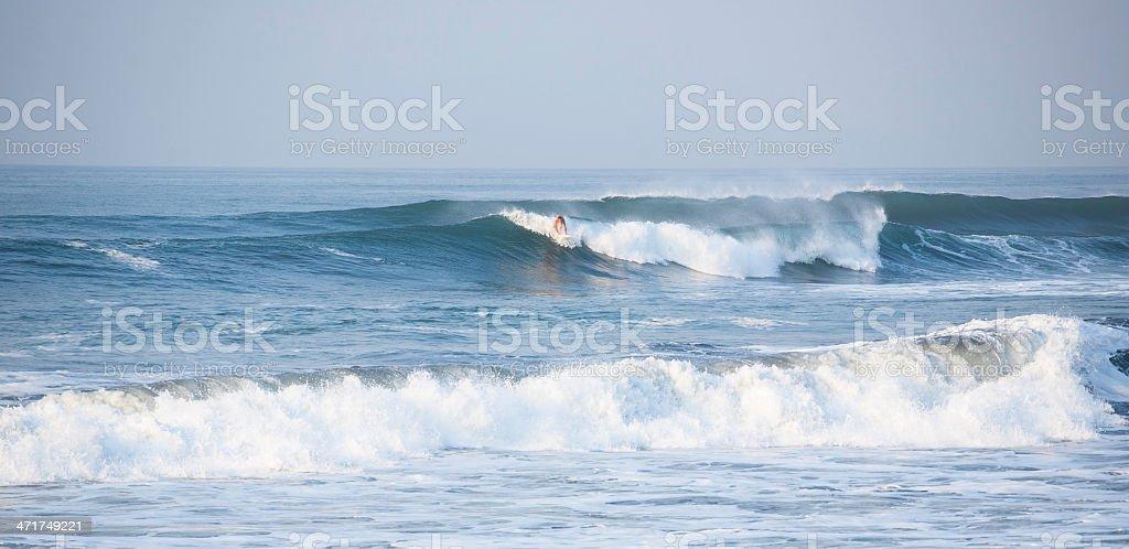 El Zonte Surfer stock photo
