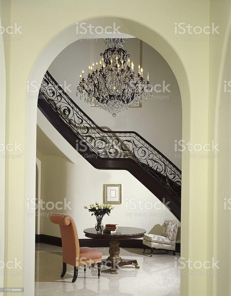 Elagant House Interior royalty-free stock photo