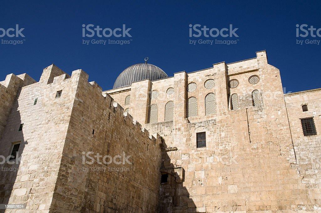 El-Aksah mosque, Jerusalem royalty-free stock photo