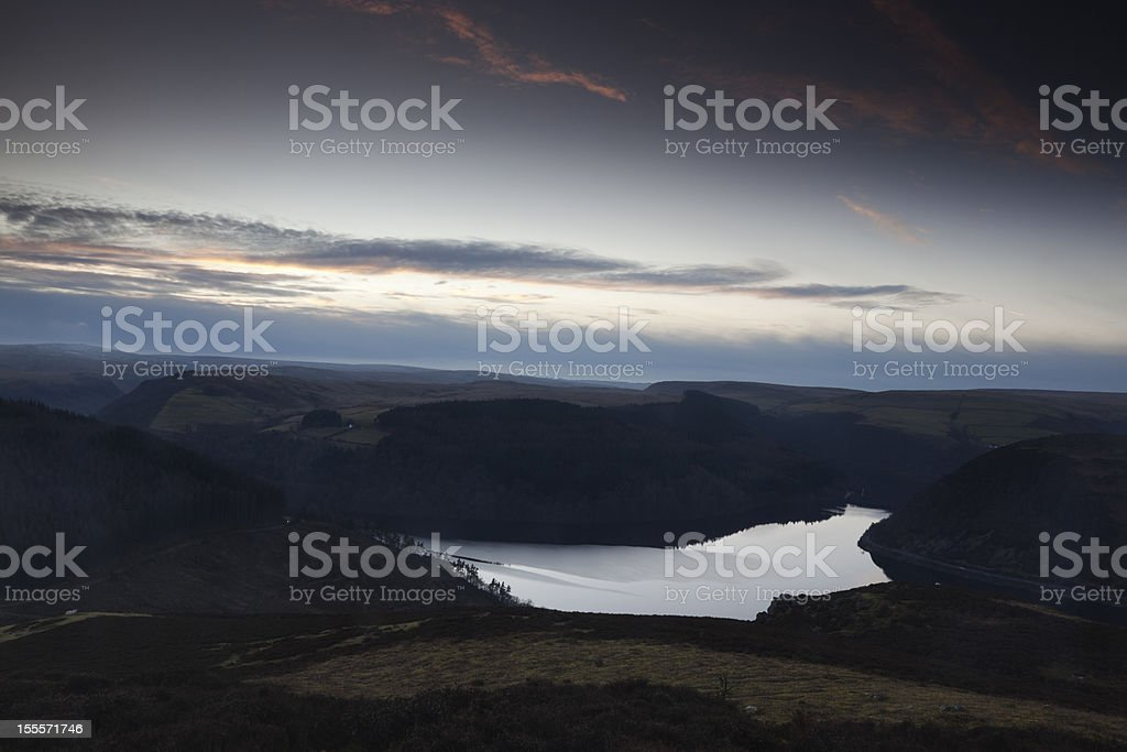 Elan Valley royalty-free stock photo