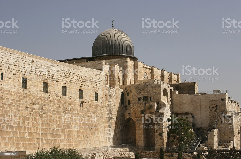 El-Aqsa - Temple Mount royalty-free stock photo