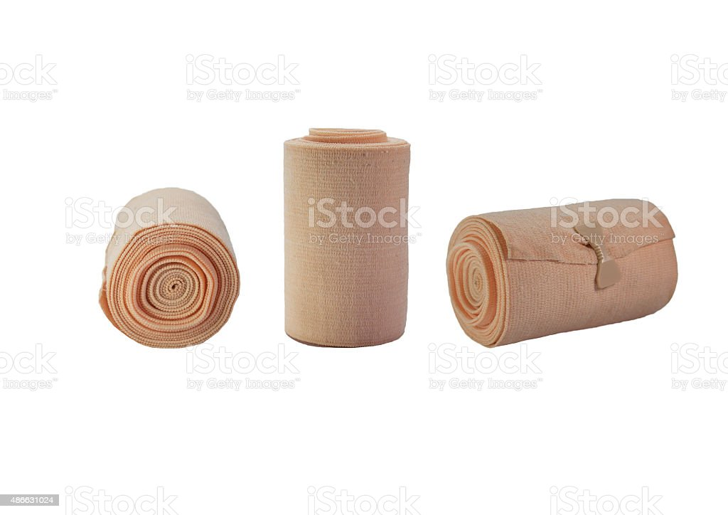 Elastic Bandages stock photo