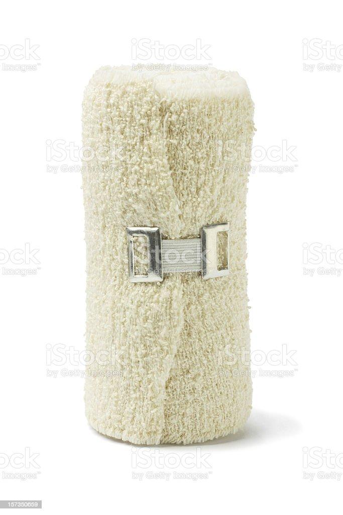 Elastic Medical Bandage stock photo