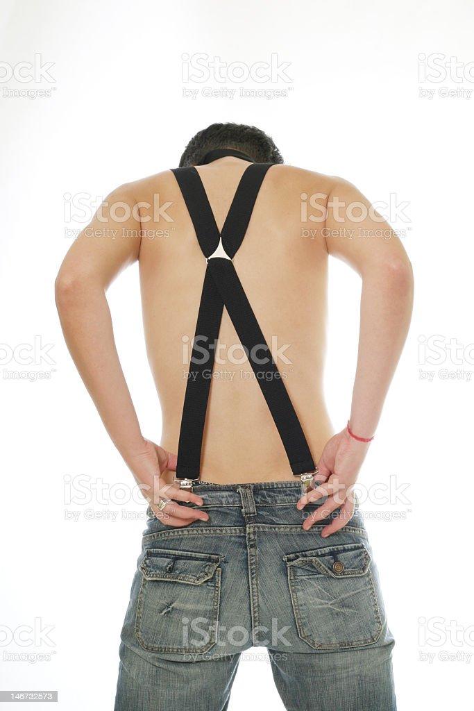 Elastic straps royalty-free stock photo