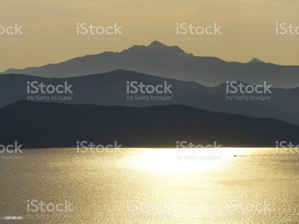 Elba Gold royalty-free stock photo