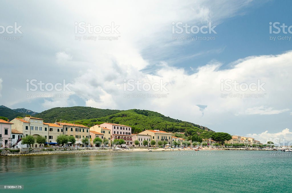 Isola d'Elba, Marciana Marina stock photo