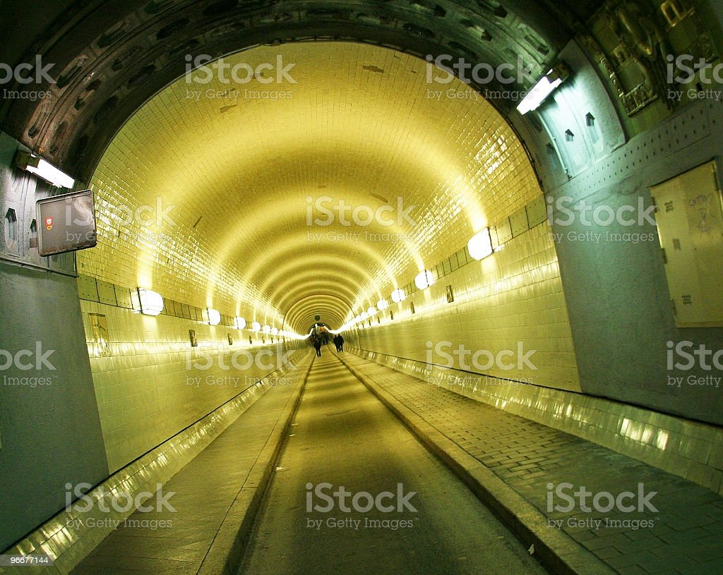 Elbe Tunnel royalty-free stock photo