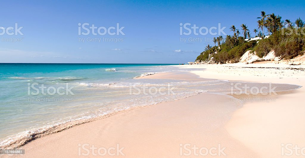 Elbow Beach, Bermuda stock photo