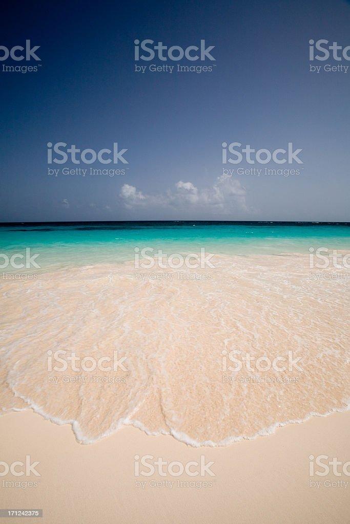 Elbow Beach in Bermuda royalty-free stock photo