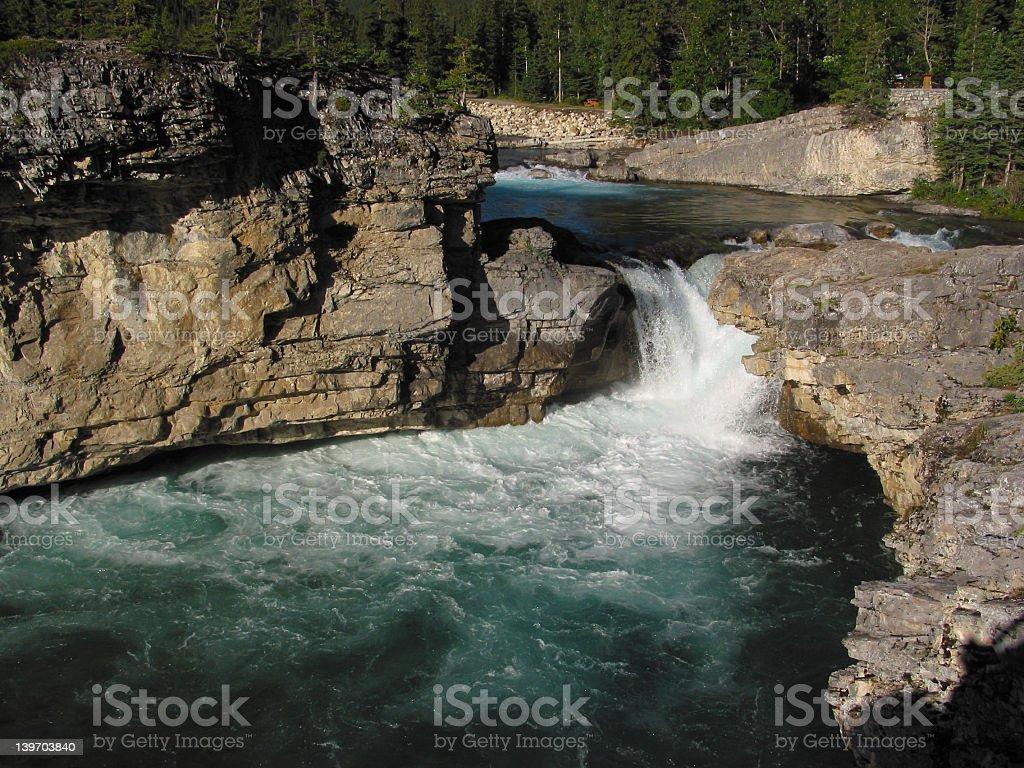 Elbow Falls royalty-free stock photo