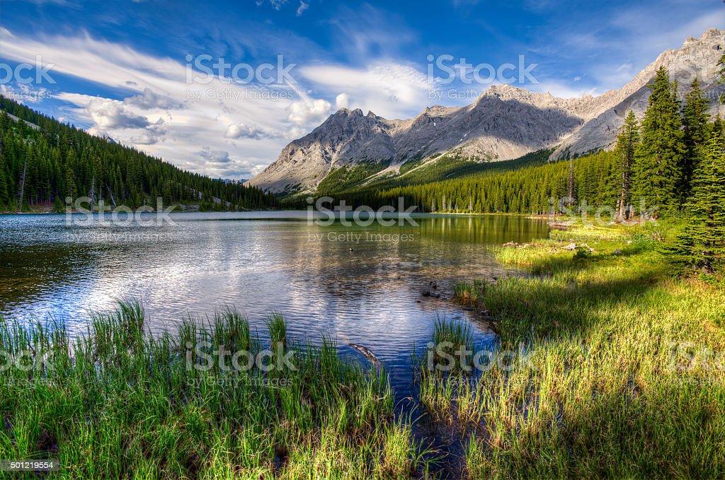 Elbow Lake stock photo