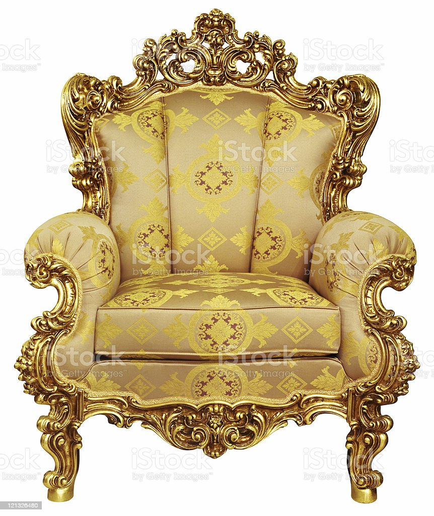 elbow-chair royalty-free stock photo