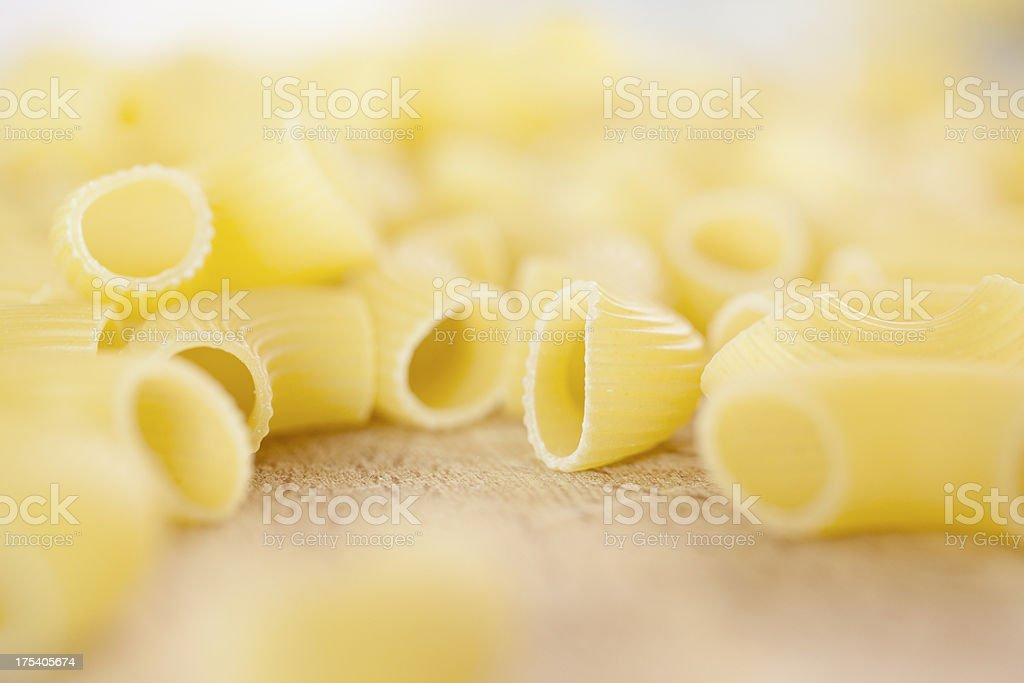 Gomiti Pasta stock photo