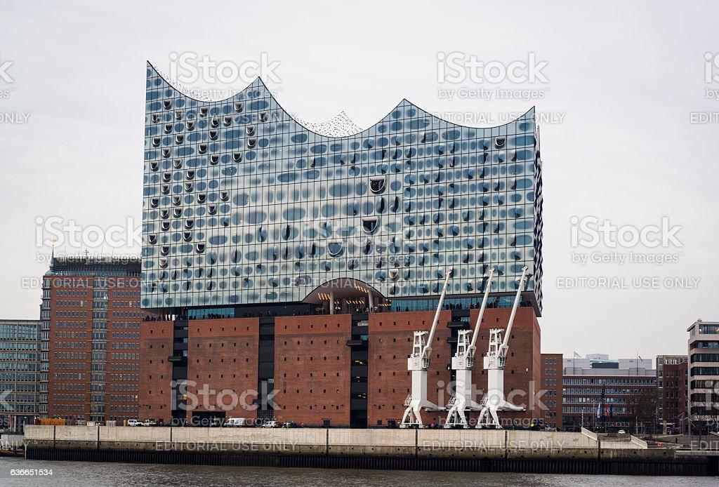 Elbphilharmonie, Hamburg, Germany stock photo
