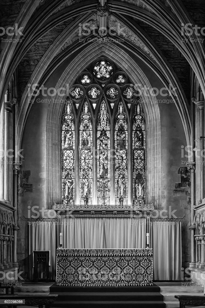 Elder Lady Chapel at Bristol Cathedral stock photo