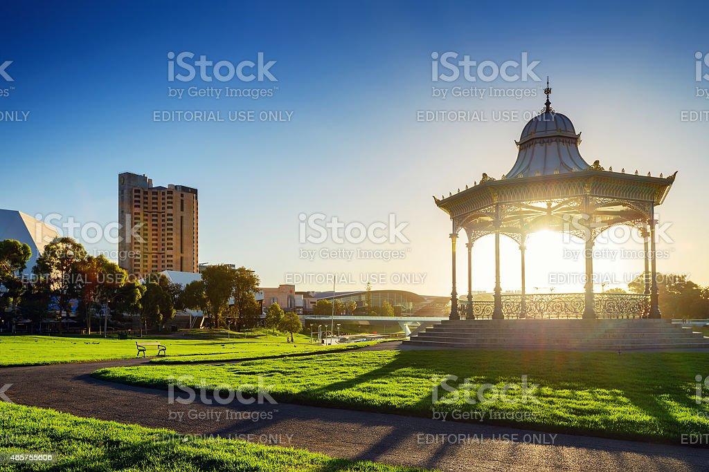 Elder Park, Adelaide City, Australia stock photo