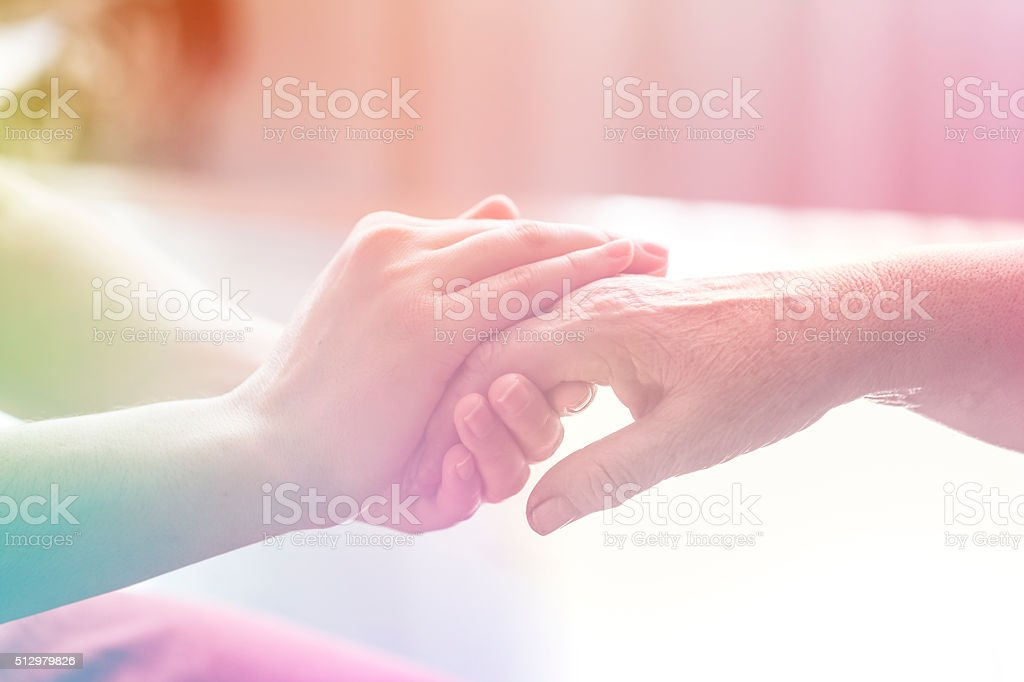 Elderly Care stock photo