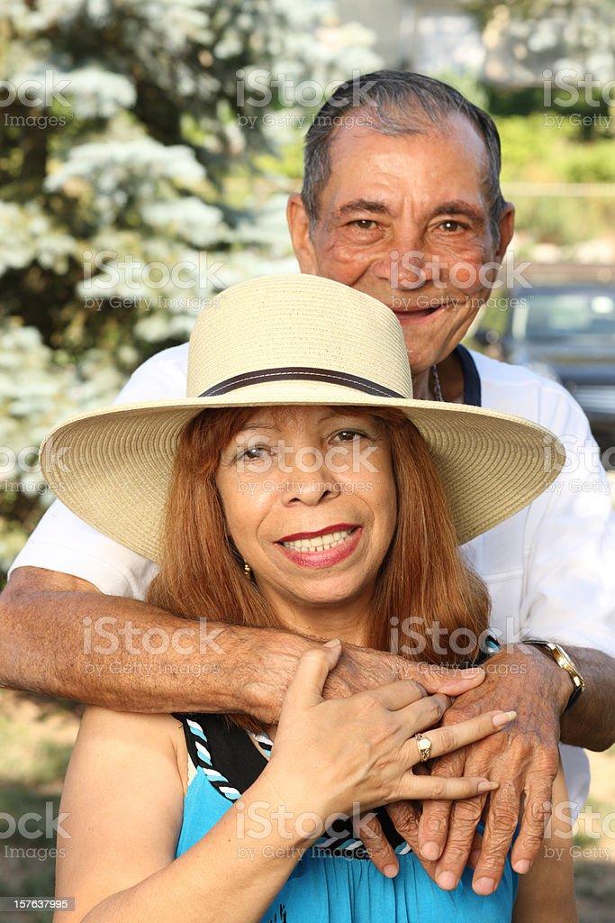 Elderly Couple royalty-free stock photo