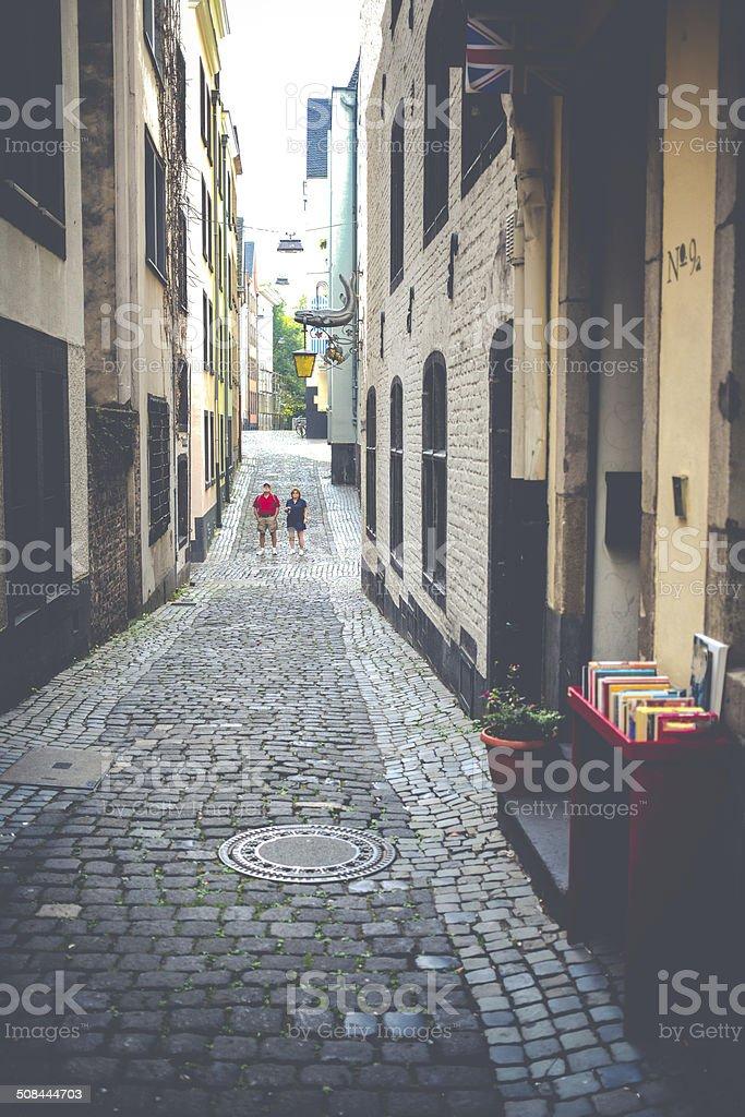 Elderly Couple Tourists royalty-free stock photo