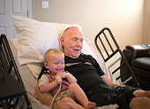 Elderly Hospice Patient with Grandson