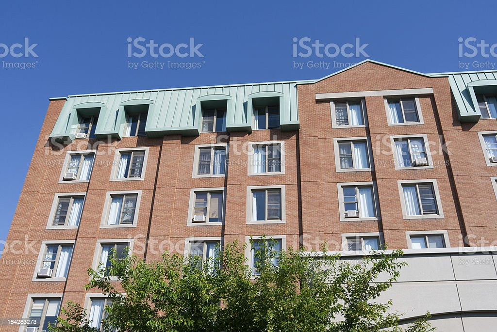 elderly house stock photo