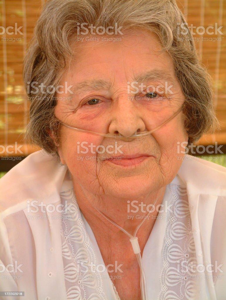 Elderly Lady royalty-free stock photo