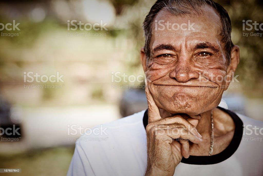 Elderly Man royalty-free stock photo