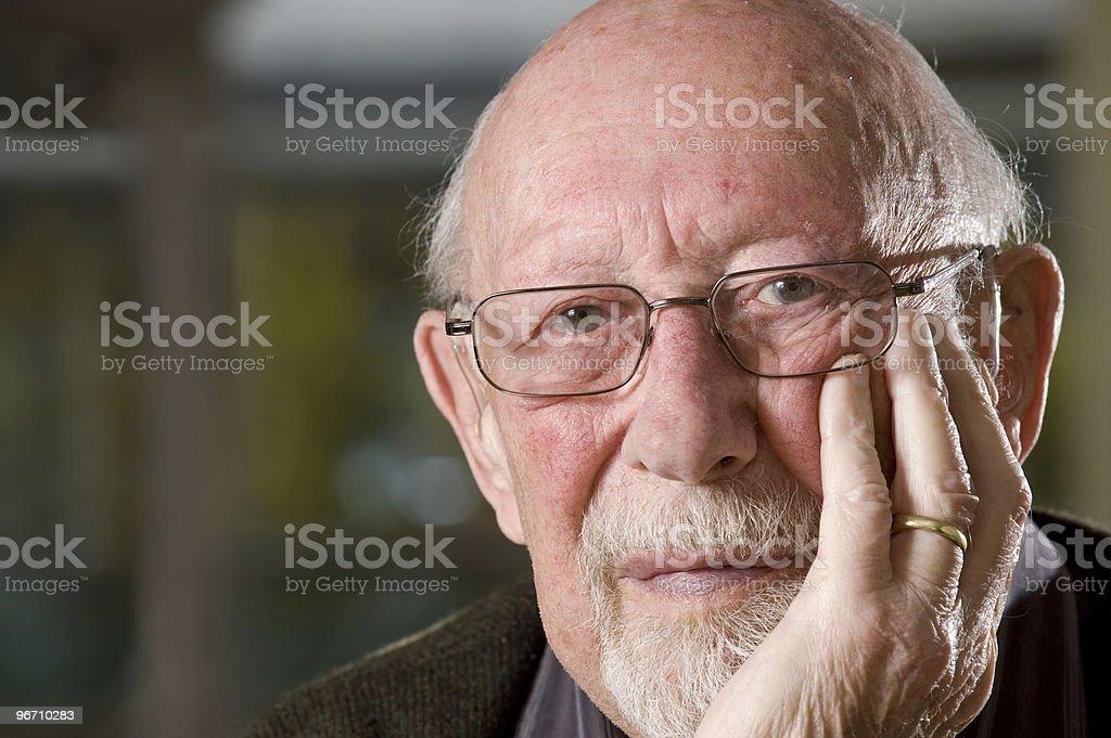 Elderly royalty-free stock photo