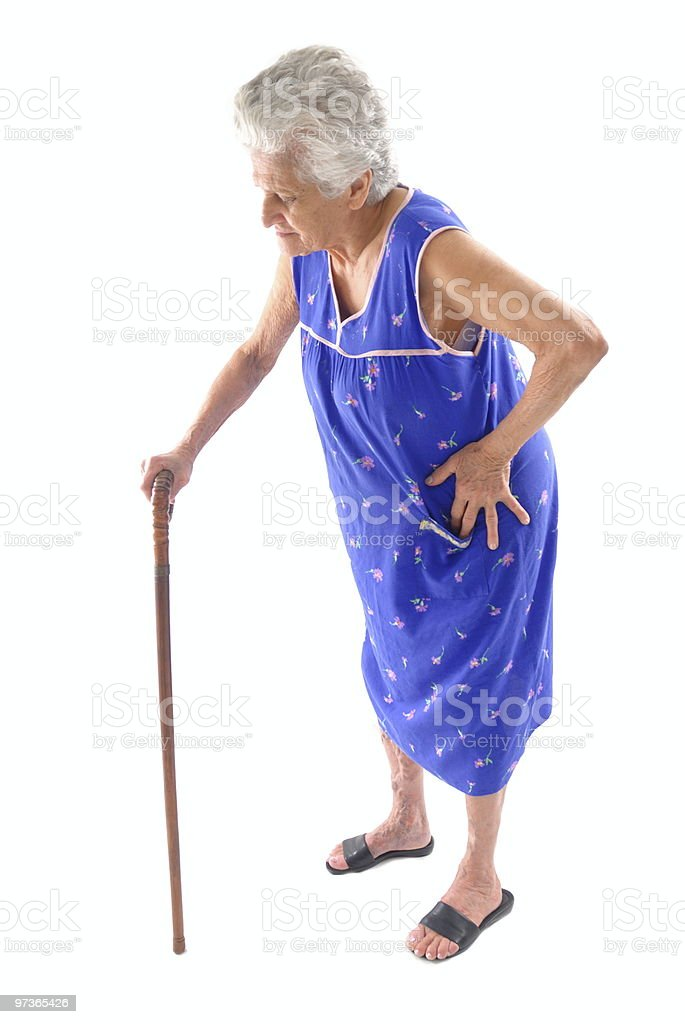 Elderly stock photo
