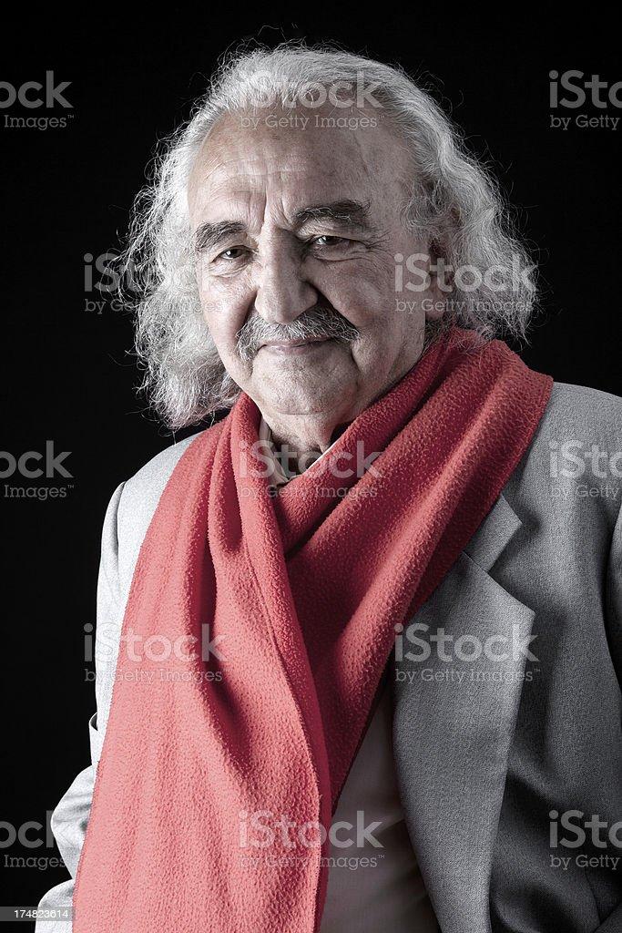 Elderly Turkish Man royalty-free stock photo